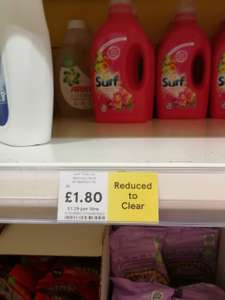 Surf Washing Liquid - 40 washes - Tesco Dundee £1.80