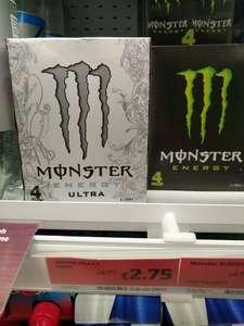Monster Energy 4x500ml £2.75 !! -  Sainsbury's (Local) Newport