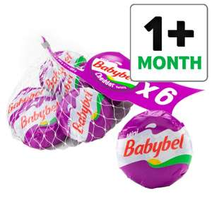 Mini Babybel Cheddar , Light Cheese  & Original 6 pack 120G Ideal for Lunches ONLY £1 @ Tesco