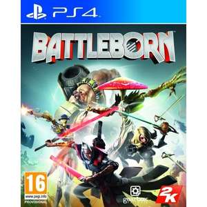 Battleborn PS4 Game (NEW) £2.68 free delivery @ 365games