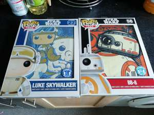 Funko Pop! T shirts - £6 each or 2 for £10 - Forbidden Planet instore (Stoke on Trent)