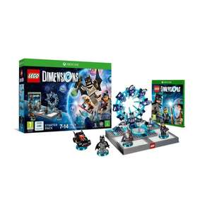 Lego dimensions starter pack Xbox one & PS4 £19.99 @ Smyths toys