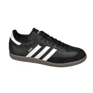 Adidas Samba Black £39.99 delivered large sizes available @ Decathlon
