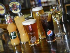 Free Marstons Drink when you sign up to their mailing list