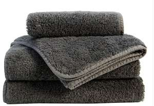 60% off with code eg 700gsm Turkish cotton bath towels were £32 now £12.80 / bath sheets were £42 now £16.80. Wimbledon towels £10 @ Christy