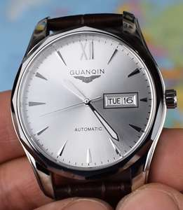 *Discount When Add To Basket* GUANQIN GJ16034 Automatic Watch Black or Silver 41mm Case, Seiko/TMI NH36A Movement, Sapphire Crystal £28.43