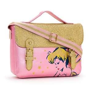 50% Off the Disney Tink Sparkle Collection - Eg Disney Store Tinker Bell Satchel (was £18) Now £9.00 @ Shop Disney