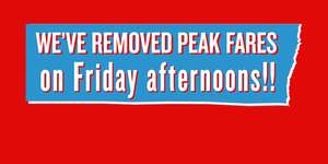 Virgin Trains - Peak Fares Scrapped on Friday Afternoons from London Euston (Save up to £125.55 vs Peak tickets)