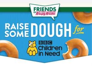 Krispy Kreme Donuts £5.50 a dozen min 5 dozen orders to raise money for children in need