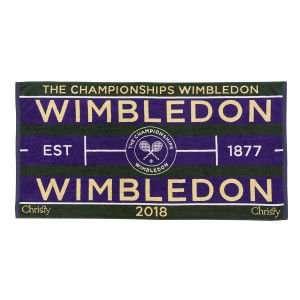 Black Friday at Christy: 70% off Sports Collection (Wimbledon £12 Del / World Cup + Man City + More in Link ) £3 Delivery @ Christy Towels