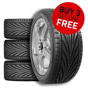4 TYRES FOR PRICE OF 3 TOYO T1-R @ DEMON TWEEKS 4 from £101.28 delivered eg 195 50 15