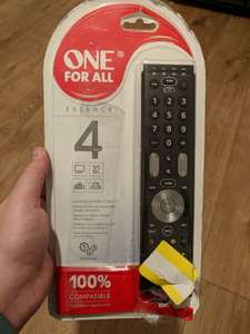 One for all remote £1.30 was £19.99 in store @ Tesco (Coventry Ricoh store)