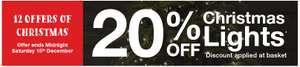 20% OFF CHRISTMAS LIGHTS AT LYCO