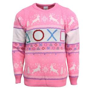 Gaming Xmas Jumpers from £14.99 delivered @ Geekstore e.g PlayStation Jumper £14.99 / Fallout 76 Jumper £14.99 & more