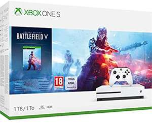 Xbox One S 1tb + Battlefield V £149.07 or Xbox One S 1tb + Battlefield V + RDR2 £186.33 @ Amazon (using quantity glitch) see OP