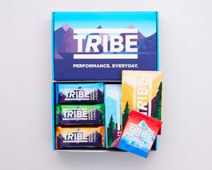 Pack of 18 Protein bars FREE using code @ TRIBE