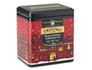 Twinings Christmas tea loose 100g £3.75 + £3.95 delivery