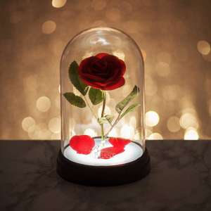 Beauty and the Beast Enchanted Rose Light, Multi-Colour (£12.99 Prime) - (£17.48 Non-Prime) @ Amazon