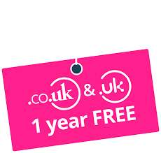 Free .co.uk or .uk Domain name for one year @ names.co.uk