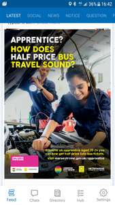 Half price Bus travel for 19 – 24 year olds taking apprenticeships in Merseyside