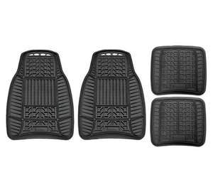 Michelin Set of 4 Heavy Duty Rubber Car Mats - Black - £19.99 + Free C&C @ Argos