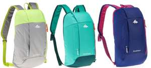 QUECHUA NH100 10-L HIKING BACKPACK 3 colors – for £1.59 Free C&C @ Decathlon