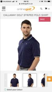 Callaway Polo shirt £5 + £2.99 delivery @ Online Golf