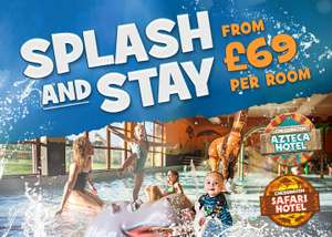 Hotel Stay, Breakfast, Entry to Savannah Splash Pool, Wanyama Village & Reserve + more from £69 for a Family of 4  @ Chessington