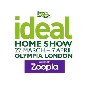 Ideal Home show tickets 2 for £5 (London Olympia)