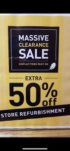 Oak furniture land extra 50% off at Cambridge sale