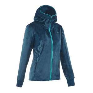 Quechua MH520 Women's Mountain Hiking Fleece Jacket - Turquoise - £11.99 @ Decathlon (Free C&C)