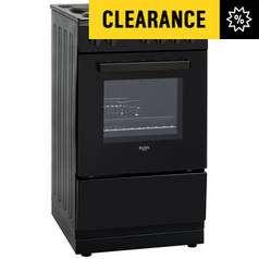HUGE Argos Clearance - Bush Electric Cooker - White £113.99 / Black £114.99 delivered  / Bush Chest Freezer - Black £90.99 + More