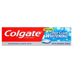 Colgate Deep Clean Whitening with Baking Soda Toothpaste £1 @ Asda
