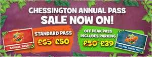 Chessington World of Adventures Annual Pass £39 off peak / £50 peak