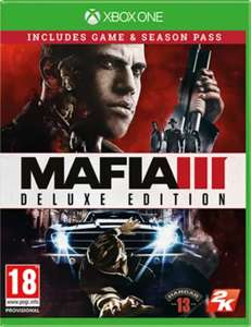 Mafia 3 Deluxe Edition including season pass for £5.99 on Xbox One, Free C+C or £1.95 delivery @ Game
