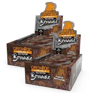 Grenade Carb Killa Brownie BOGOF at Discount Supplements Now £22.90 delivered