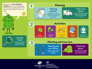 Free Trees for Communities and Schools From The Woodland Trust