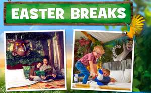 April Hotel Stay + Breakfast + 2 Day Theme Park Tickets (Inc. Easter Dates) from £176 (£44pp) based on family of 4 at Chessington Holidays