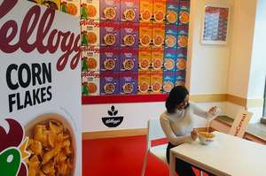 Kellogg's cereal cafe Manchester Princess St FREE cereal, coffee, activities etc 7-10 March (may be extended)