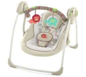 Ingenuity Soothe n Delight Portable Swing Cozy Kingdom 5 Point Safety Harness - £39 @ Tesco Outlet eBay
