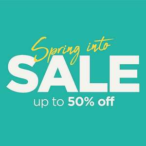 Up to 50% off in Disney - ShopDisney Spring Sale  - Delivery £3.95 / Free on orders £50+