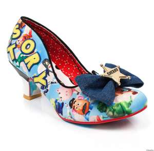 Irregular choice women's sheriff woody toy story kitten heel shoes now £64.99 limited edition @ Mastershoe
