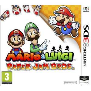 Mario & Luigi: Paper Jam Bros Nintendo 3ds/2ds £10.95 delivered @ The Game collection