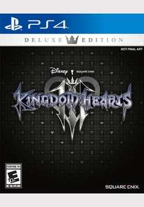 Kingdom Hearts 3 Deluxe Edition PS4 Smyths Instore (Leeds) - £40
