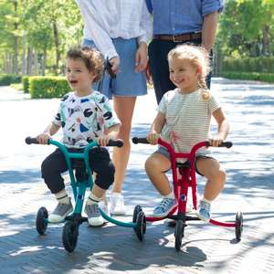 Micro Scooters Micro Trike with parent handle, seat belt, puncture free wheels and compact fold £49.95 with code @ Micro Scooters