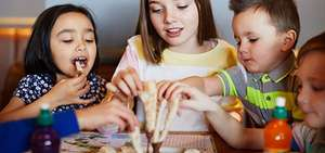 Kids eat for £1 -  3 courses plus a drink  with purchase of full priced main dish @ Prezzo
