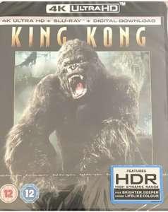 King Kong 4K UHD & Blu-Ray & Digital like new £8.60 Delivered @ eBay/tradeinn