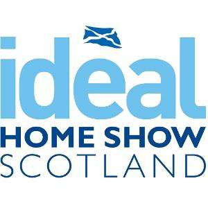 Ideal Home Show Scotland Glasgow Fri 24th Sunday 26th Monday 27th May two free tickets with code