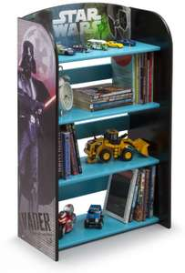 Star Wars bookcase £12.98 plus £4.49 postage Big Red Warehouse.