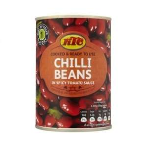 KTC Chilli Beans in a Spicy Tomato Sauce 45p each or 4 for £1 @ Asda ( more tinned veg in offer inc Kala Chana, Rosecoco,Toms, Chickpeas)